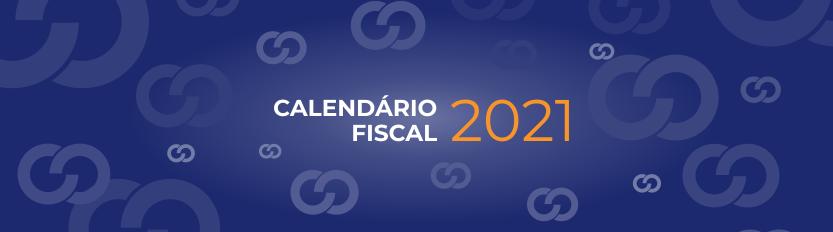 Calendário Fiscal 2021